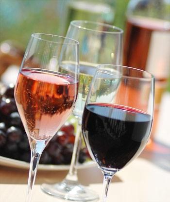 We serve Wine