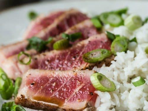 Seared Tuna - Asian Restaurant